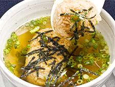 おこげスープ(漬物付き)